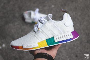 """adidas NMD R1 """"Pride"""" : Sale Price: $79.99 (Retail $130)  – FREE SHIPPING – use code:  – GET20 –  at checkout"""