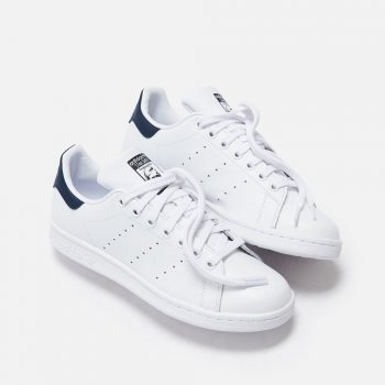 "adidas Stan Smith ""White Navy"" : Sale Price: $36.97 (Retail $80)"