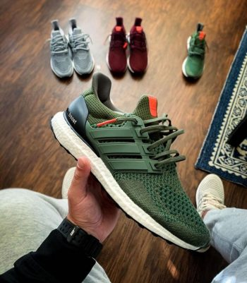 """adidas UltraBOOST 1.0 OG """"Olive Green"""": Sale Price: $135 (Retail $180)  – FREE SHIPPING – use code:  – SALE25 –  at checkout"""
