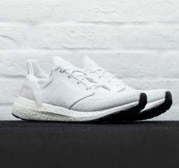 """adidas UltraBOOST 20 """"White"""" : Sale Price: $89.99 (Retail $180)  – FREE SHIPPING – use code:  – 25PREZZ –  at checkout"""