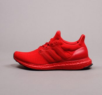"""adidas UltraBOOST DNA (W) """"Triple Red"""": Sale Price: $89.99 (Retail $180)  – FREE SHIPPING – use code:  – 25PREZZ –  at checkout"""