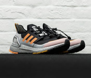 """adidas UltraBOOST Winter """"Black Orange"""": Sale Price: $114 (Retail $190)  – FREE SHIPPING – use code:  – 25SALE –  at checkout"""