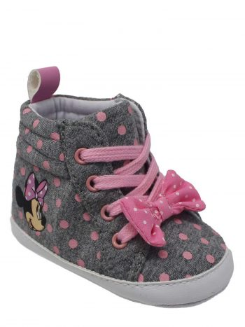 Disney Infant Girls' Minnie Mouse Soft Sole High-Top Sneaker $4, Disney Infant Girls' Minnie Mouse Ballet Flats $4.50, More + Free Shipping w/ Walmart+ or on $35+
