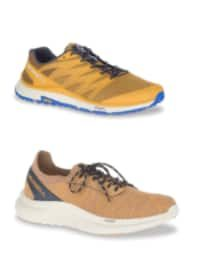 DSW Bogo 50% Off Sale: Merrell Men's Recupe Lace Trail Shoe + Merrell Men's Bare Access XTR Trail Shoe $67.50 ($33.75 each), More + Free Shipping [Use code 'SOLEMATE' at checkout]
