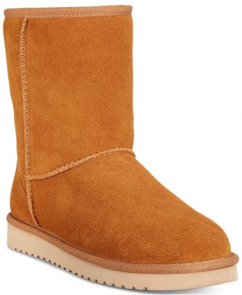 Macys Women's Shoes Flash Sale: Koolaburra by Ugg Koola Short Boots $36, JBU Woodbury Casual Duck Shoe $15, Style & Co Teenyy Cold-Weather Booties $17.37, More + FS on $25