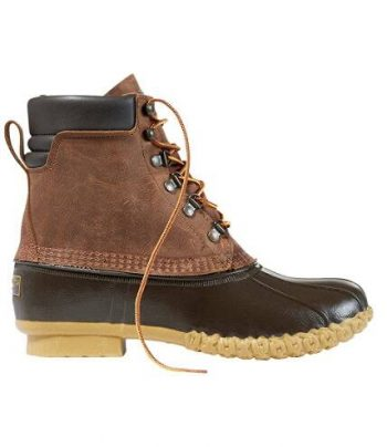 Men's Bean Boots, 8″ PrimaLoft/Gore-Tex (use 10% off for further discount) – $129