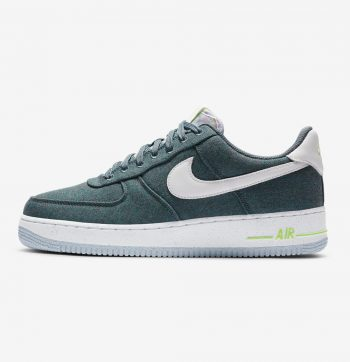 """Nike Air Force 1 Low """"Recycled Canvas"""": Sale Price: $73.97 (Retail $120)  – FREE SHIPPING"""