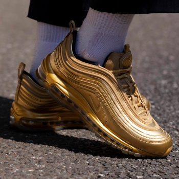 """Nike Air Max 97 """"Gold Medal"""" : Sale Price: $108.75 (Retail $180)  – FREE SHIPPING – use code:  – 25PREZZ –  at checkout"""