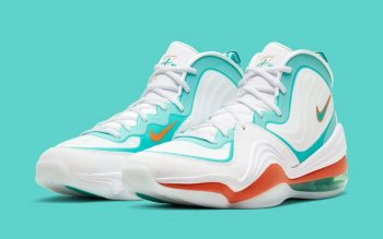 """Nike Air Penny V """"Dolphins"""" : Sale Price: $74.99 (Retail $160)  – FREE SHIPPING  – use code:  – 25PREZZ –  at checkout"""