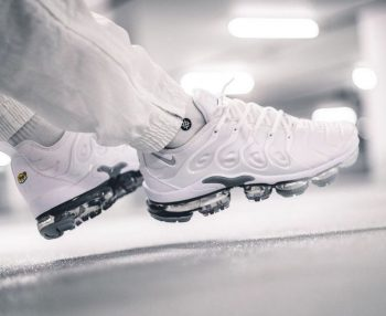 """Nike Air VaporMax Plus """"Pure Platinum"""": Sale Price: $150 (Retail $200)  – FREE SHIPPING – use code:  – LIV25 –  at checkout"""