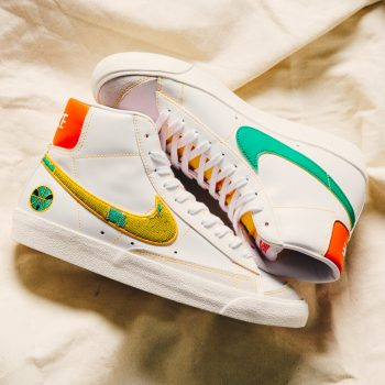 """Nike Blazer Mid '77 """"Raygun"""": Sale Price: $99 (Retail $110)  – FREE SHIPPING – use code:  – SHOUTS10 –  at checkout"""