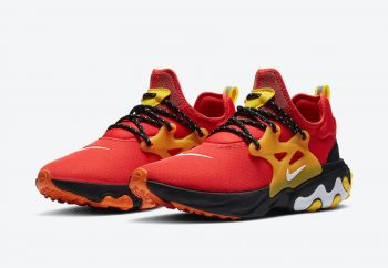 """Nike React Presto """"Chile Red"""": Sale Price: $59.99 (Retail $130)  – FREE SHIPPING – use code:  – 25PREZZ –  at checkout"""