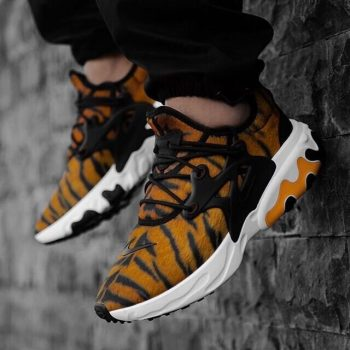 """Nike React Presto """"Tiger"""" : Sale Price: $88.99 (Retail $140)  – FREE SHIPPING – use code:  – GET20 –  at checkout"""