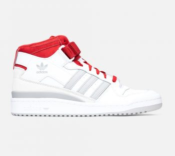 """Now Available: adidas Forum Mid """"White Grey"""""""