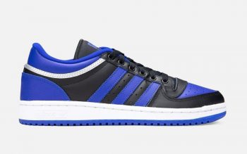 "Now Available: adidas Top Ten Low ""Black Blue"""