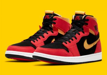 """Now Available: Air Jordan 1 High Zoom """"Chile Red"""""""