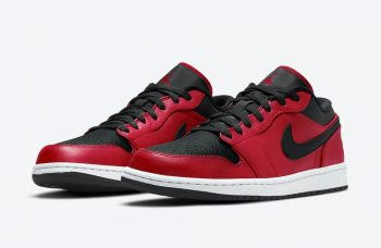 "Now Available: Air Jordan 1 Low ""Gym Red"""