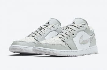 """Now Available: Air Jordan 1 Low """"White Camo"""""""
