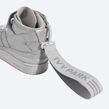 """Now Available: Ivy Park x adidas Forum Mid """"Silver Metallic"""""""