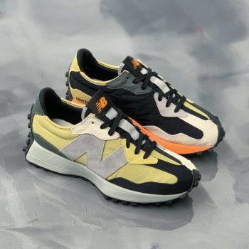 """Now Available: New Balance 327 """"Golden Poppy"""""""