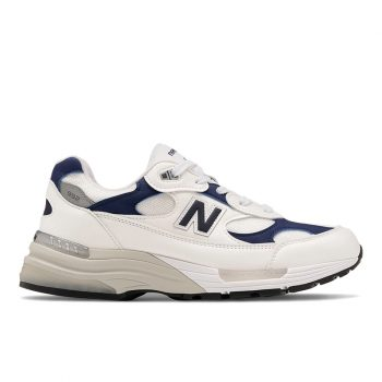"Now Available: New Balance 992 ""White Navy"""