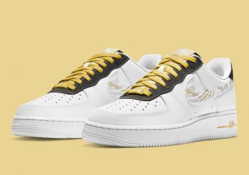 """Now Available: Nike Air Force 1 Low """"Gold Chain"""""""
