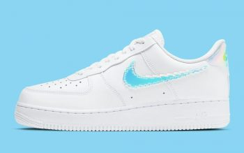 """Now Available: Nike Air Force 1 Low Pixel """"Iridescent"""""""