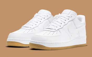 """Now Available: Nike Air Force 1 Low """"White Gum"""""""
