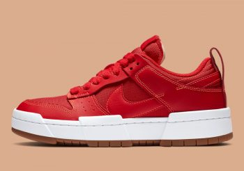 "Now Available: Nike Dunk Low Disrupt (W) ""Gym Red"""