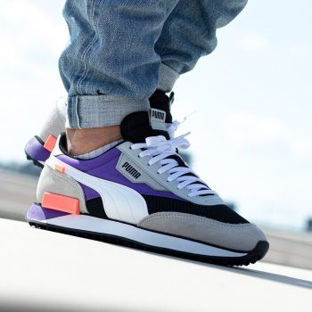 "Puma Future Rider ""Black Violet"": Sale Price: $29.99 (Retail $90)  – free shipping on orders $35+"