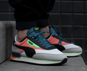 """Puma Future Rider """"Fusion Coral"""": Sale Price: $29.99 (Retail $90)  – free shipping on orders $35+"""