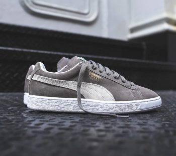 """Puma Suede Classic """"Steeple Grey"""": Sale Price: $35.99 (Retail $65)  – FREE SHIPPING – use code:  – GET20 –  at checkout"""