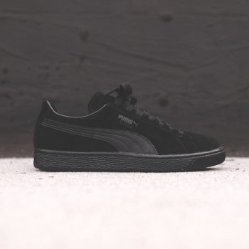 """Puma Suede Classic """"Triple Black"""": Sale Price: $39.99 (Retail $65)  – FREE SHIPPING – use code:  – GET20 –  at checkout"""
