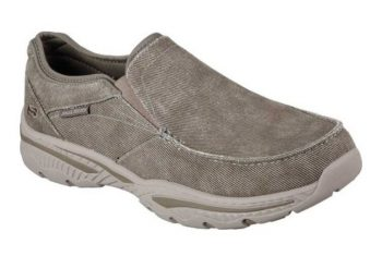 Skechers Relaxed Fit Creston Moseco Men's Slip-on Shoe $31.32 + Free Shipping