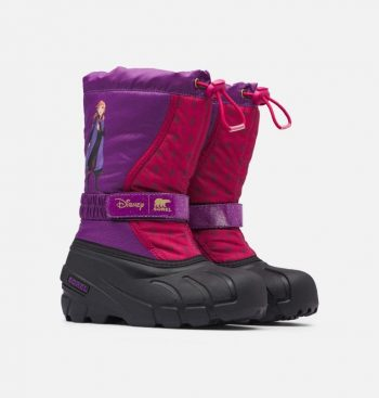 Sorel x Disney Youth Flurry Frozen 2 Boot (Anna or Elsa Edition) $28, Sorel Women's Cate Cut-Out Bootie $76.80, More + Free Shipping [Use code 'SOREL20' at checkout]
