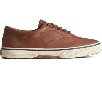 Wide Sperry Men's Halyard CVO Leather Sneaker $38.97 [Use code 'STOCKUP' at checkout]