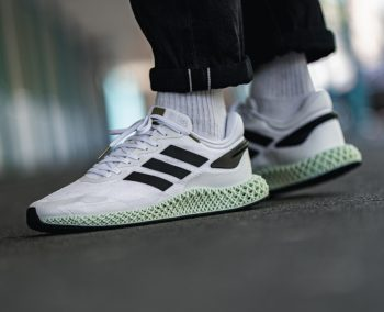 "adidas 4D Run 1.0 ""White Black"" : Sale Price: $120 (Retail $220)  – FREE SHIPPING – use code:  – 25HOOPS –  at checkout"