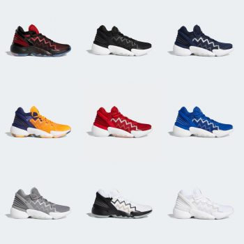 adidas D.O.N. Issue #2 colorways: Sale Price: $60 (Retail $100)  – FREE SHIPPING  – use code:  – EXTRA25 –  at checkout