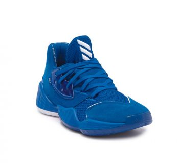 "adidas Harden Vol. 4 ""Royal Blue"": Sale Price: $59.98 (Retail $130)  – free shipping on orders $89+"
