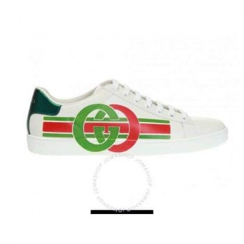 GUCCI Ladies Interlocking G Ace Sneakers $399.99 + Free Shipping