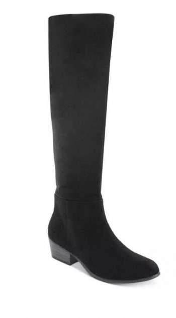 Macy's Select Women's Boot Sale up to 70% off: Esprit Treasure Suede Dress Boots $20 & More + 6% Slickdeals Cashback (PC Req'd) + Free Store Pickup