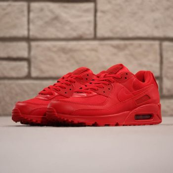 """Nike Air Max 90 OG """"Triple Red"""" : Sale Price: $90 (Retail $120)  – FREE SHIPPING  – use code – 25SPRING – at checkout"""