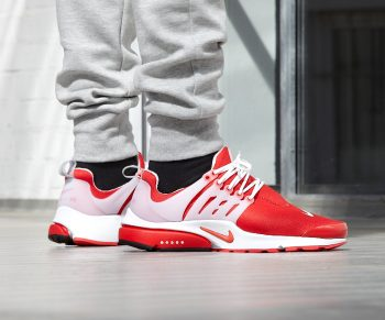 "Nike Air Presto ""Comet Red"" : Sale Price: $97.50 (Retail $130)  – FREE SHIPPING – use code:  – 25HOOPS –  at checkout  – XXS (7-8)