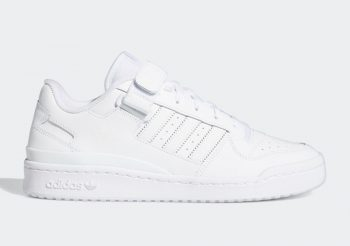 """Now Available: adidas Forum Low """"Triple White"""""""