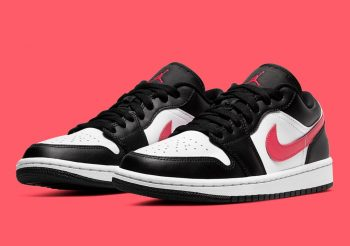 """Now Available: Air Jordan 1 Low (W) """"Siren Red"""""""