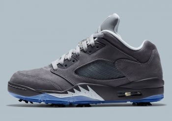 """Now Available: Air Jordan 5 Retro Low Golf """"Wolf Grey"""""""