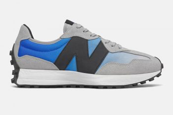 "Now Available: New Balance 327 ""Cobalt Blue"""