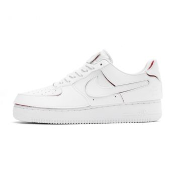 """Now Available: Nike Air Force 1/1 """"White Red"""""""