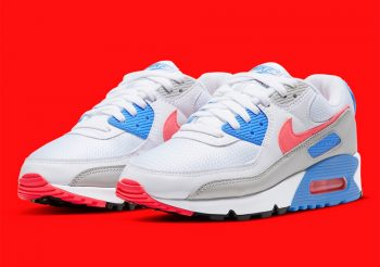 """Now Available: Nike Air Max 90 """"Hot Coral"""""""