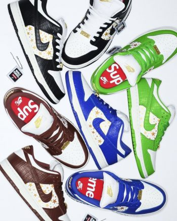 Now Available: Supreme x Nike SB Dunk Low